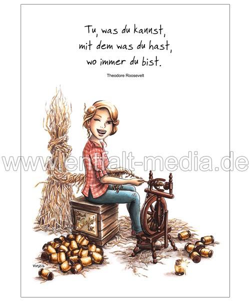 Postkarten: Nutze das was du hast