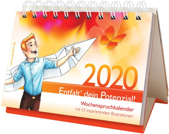 entfalt®-Kalender 2020: Entfalt' dein Potenzial!