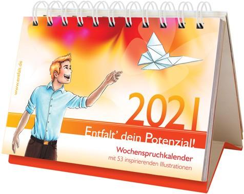 entfalt®-Kalender 2021: Entfalt' dein Potenzial!