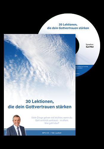 Audio-CD: 30 Lektionen, die dein Gottvertrauen stärken
