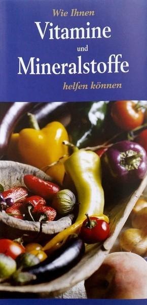 Wie Ihnen Vitamine und Mineralstoffe helfen können (Broschüre)