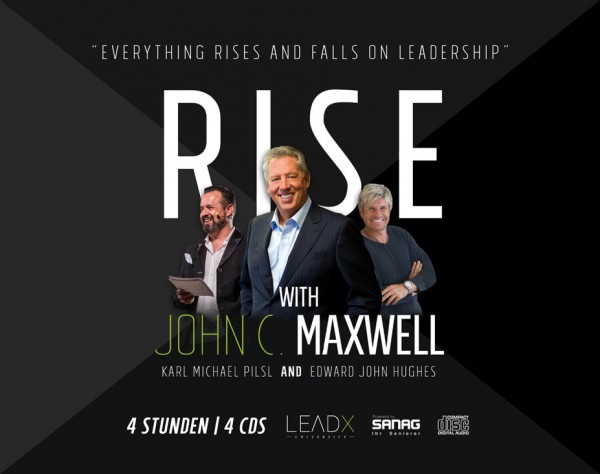Audio-CD-Set: RISE mit John C. Maxwell