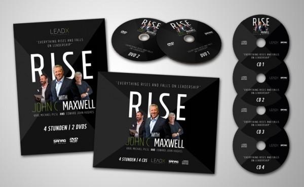 Paket: Audio-CD und DVD-Set: RISE mit John C. Maxwell