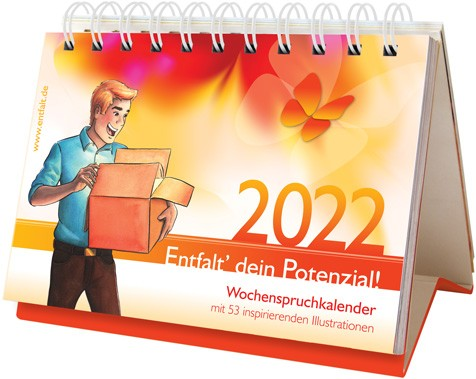 entfalt®-Kalender 2022: Entfalt' dein Potenzial!