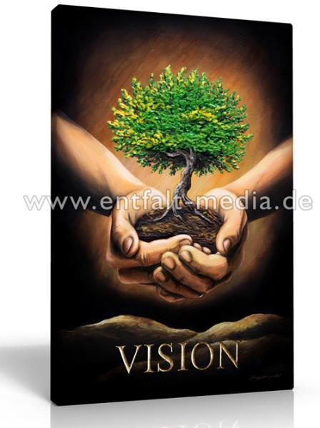 Leinwanddruck: Vision