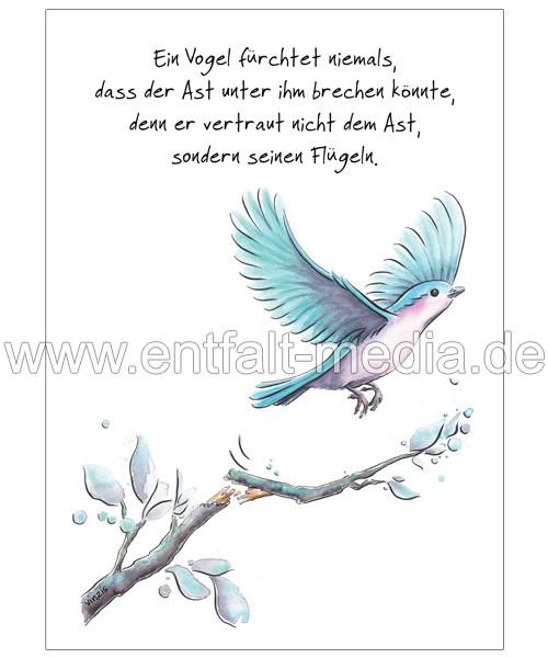 Postkarten: Glaub an dich
